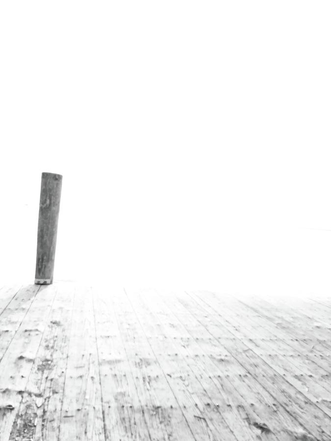Dock Photograph - Emptying Nothing Everything by Gillis Cone