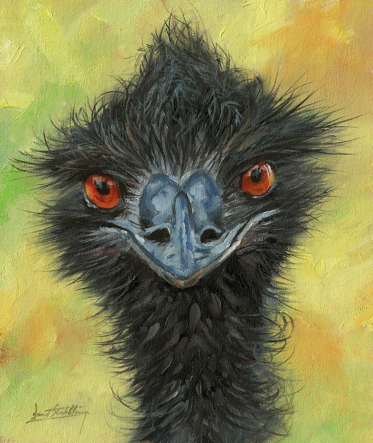 Emu by David Stribbling