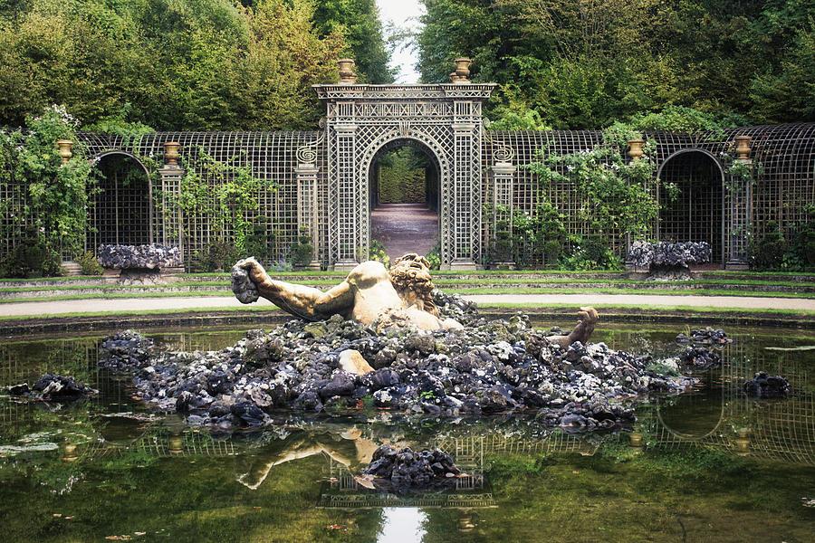 Enceladus Fountain in the Gardens of Versailles by Portia Olaughlin