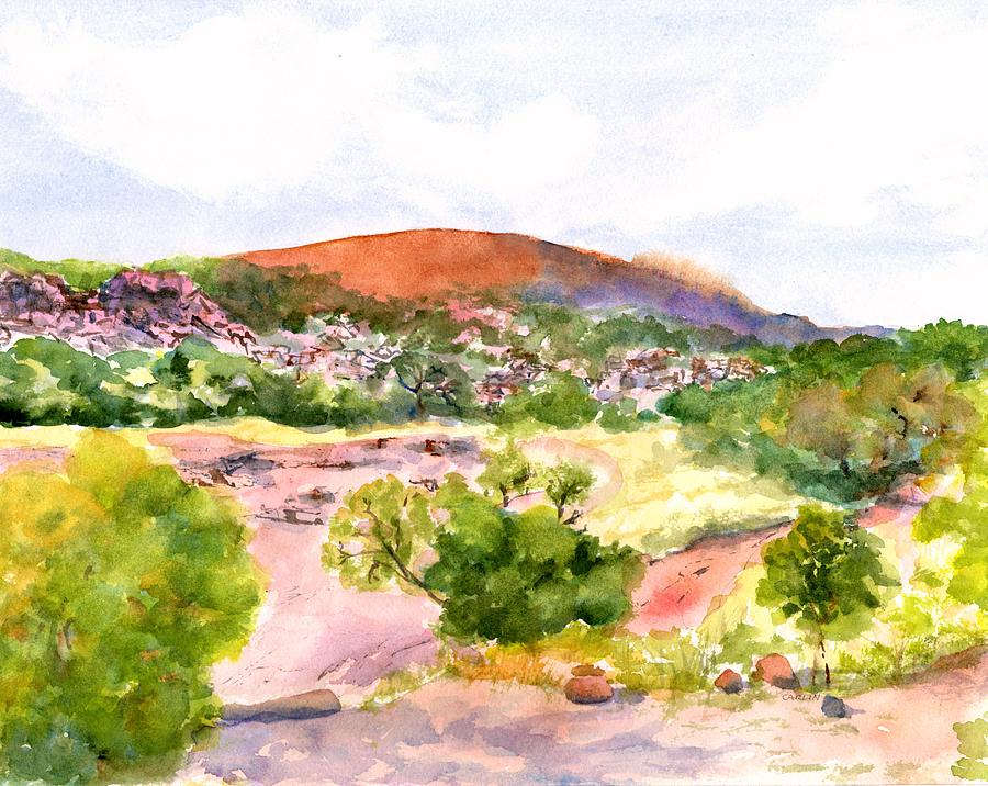 Enchanted Rock Texas by Carlin Blahnik CarlinArtWatercolor