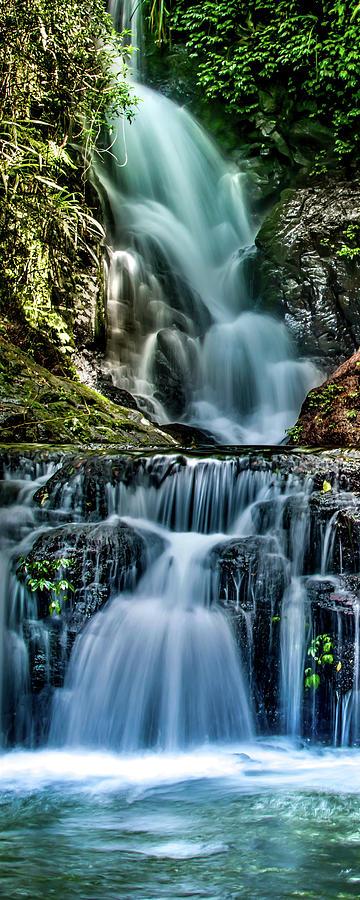 Streaming Photograph - Enchanting Flow by Az Jackson