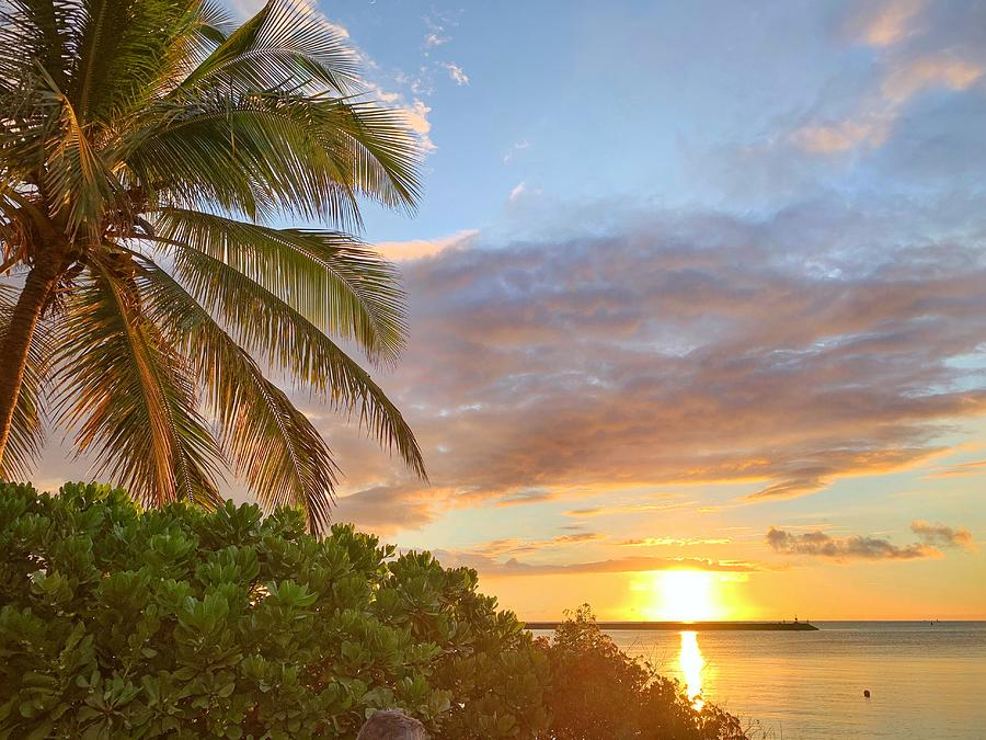 Beach Photograph - End of Day in Paradise by Jan Hicks