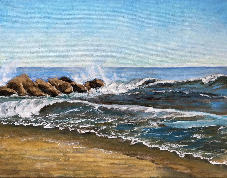 End of Jetty by Karla Beatty