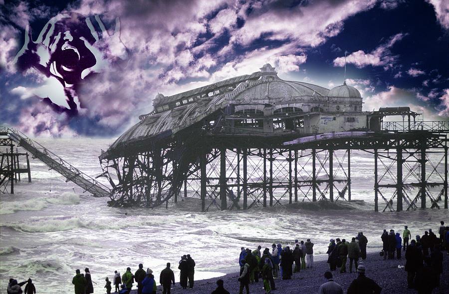 Pier Digital Art - End Of The Pier Show by Nikki Attree