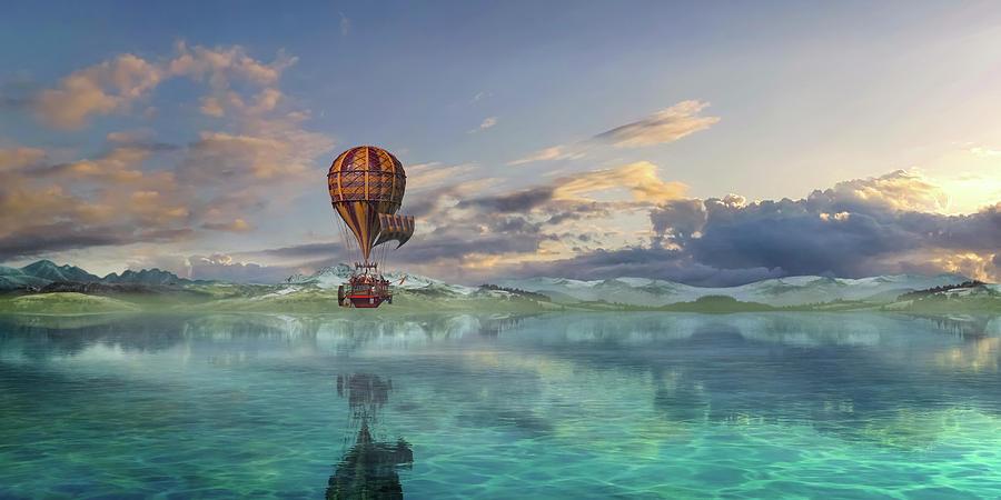 Hot Digital Art - Endless Journey by Betsy Knapp