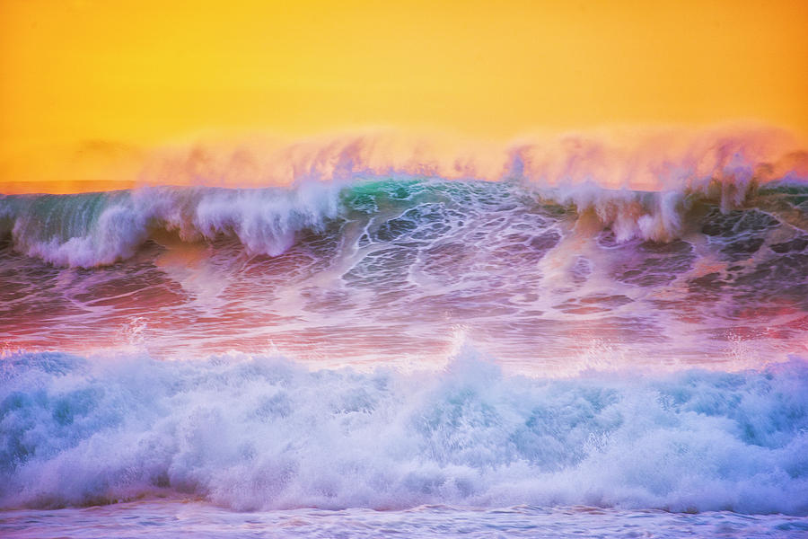 California Photograph - Endless Waves by Fernando Margolles