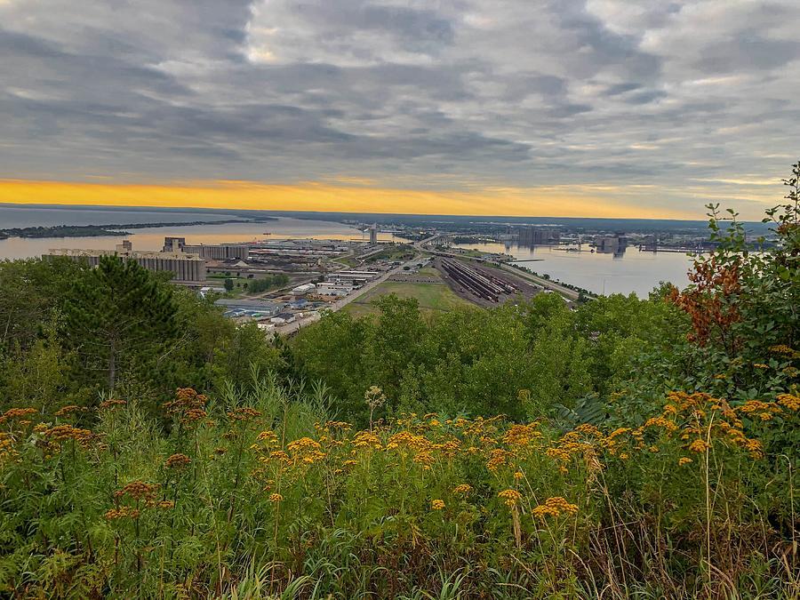 Enger Park Photograph - Enger Park Overlook In Duluth by Susan Rydberg