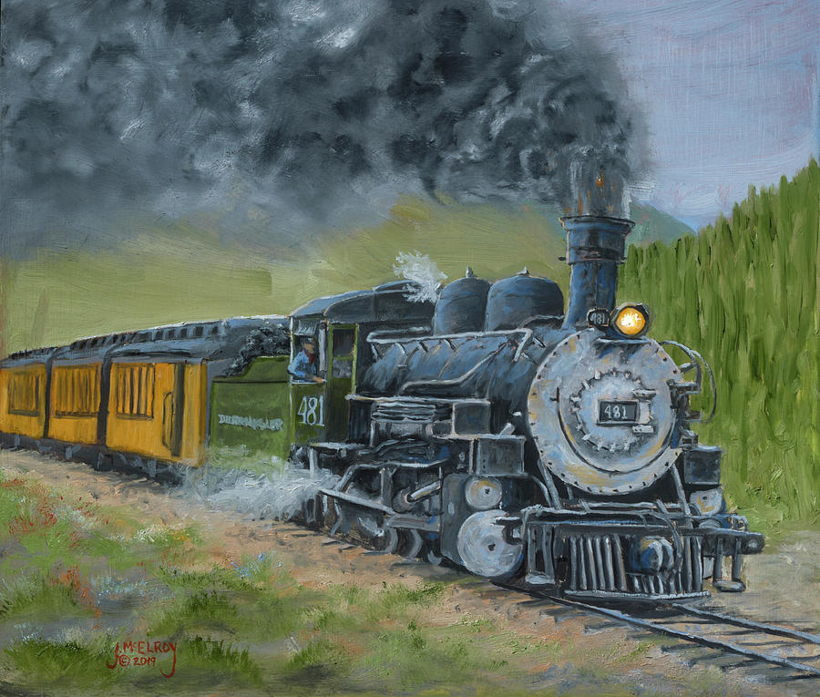 Engine 481 by Jerry McElroy