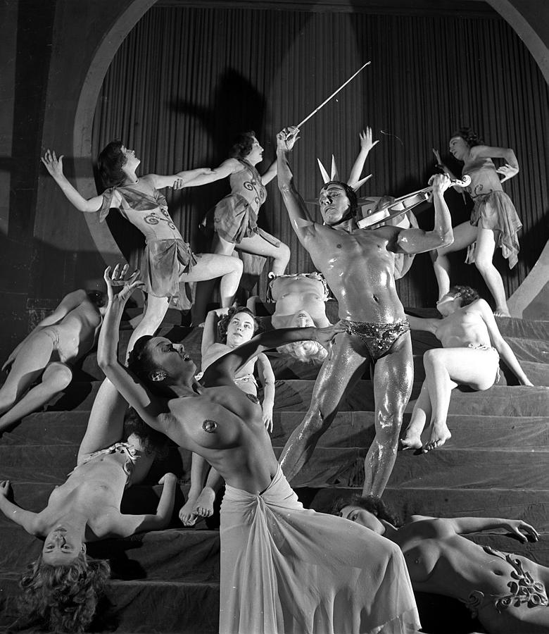 England. 1949. French Dance Troupe Les Photograph by Popperfoto
