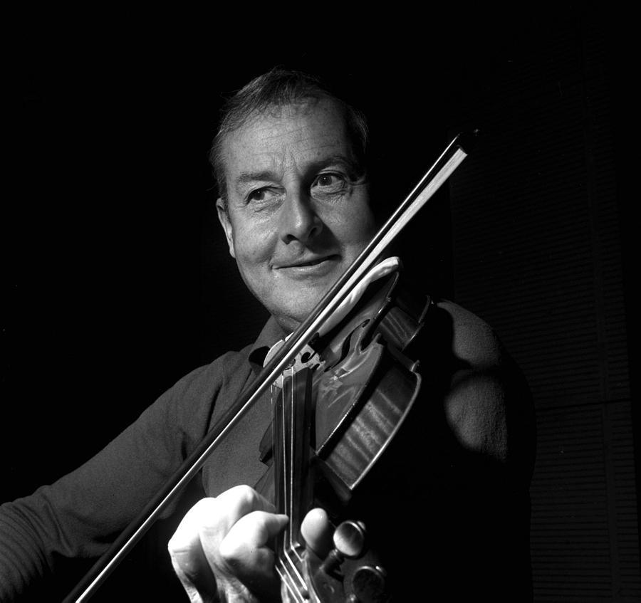 England. 1960. Violinist Stephane Photograph by Popperfoto