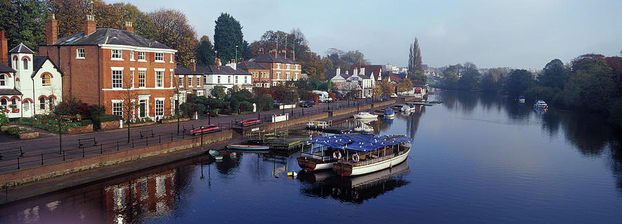 England, Cheshire, Chester, Canal And Photograph by Bill Truslow