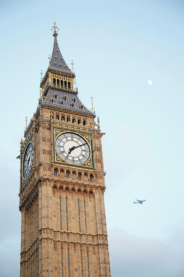 England, London,  View Of Big Ben Tower Photograph by Westend61