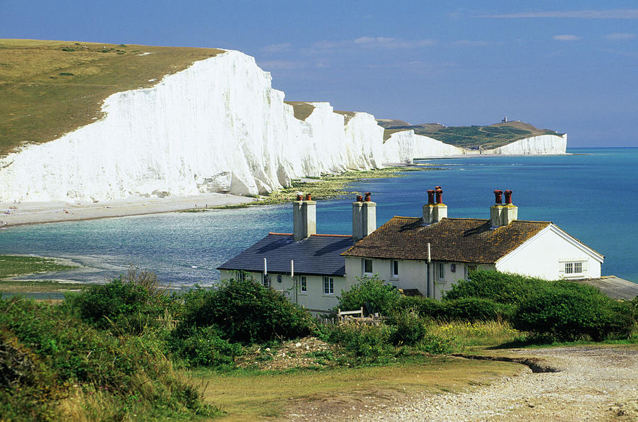 England, Sussex, Seven Sisters Cliffs Photograph by David C Tomlinson
