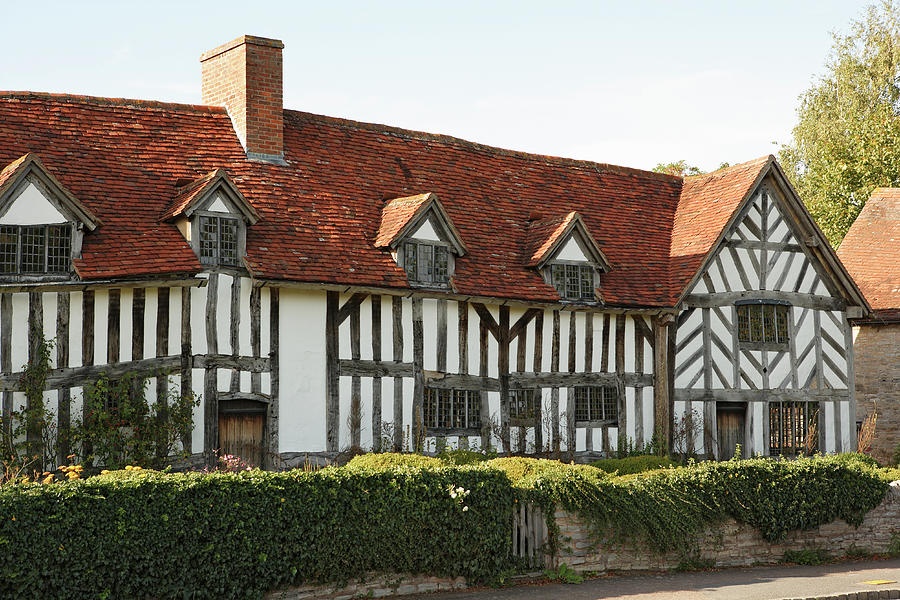 England, Warwickshire, Wilmcote, Mary Photograph by Peter Scholey