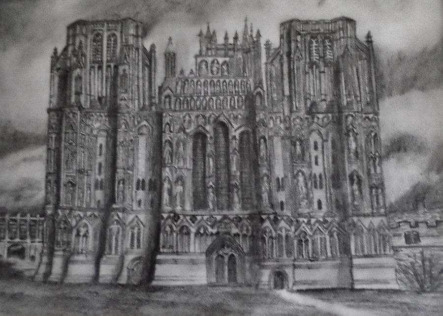 English Cathedral Drawing