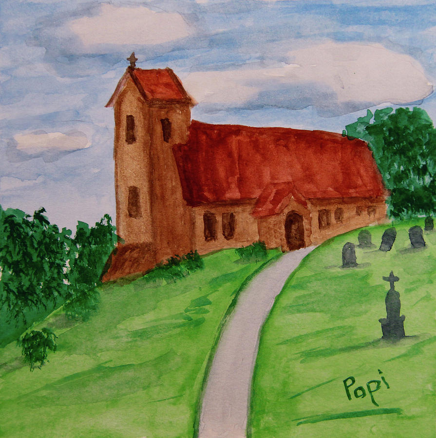 English Country Church by Paul Anderson
