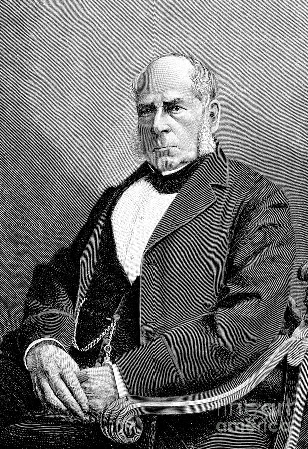 English Engineer And Inventor Sir Henry Drawing by Heritage Images