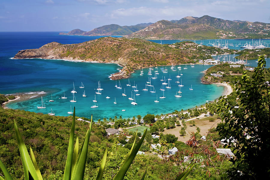 English Harbour, Antigua Photograph by Cworthy