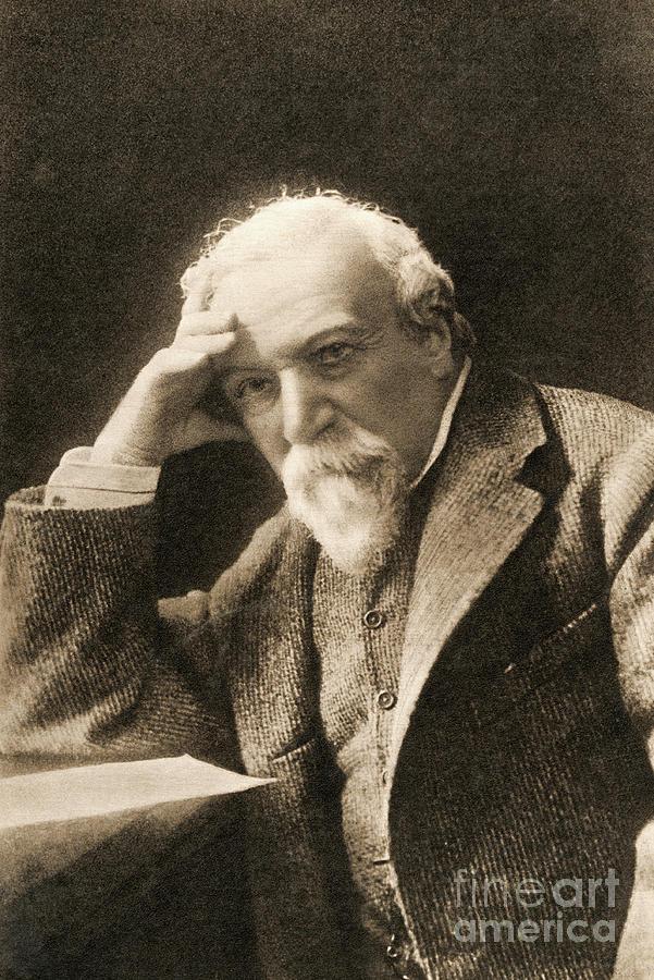 English Poet Robert Browning Photograph by Bettmann
