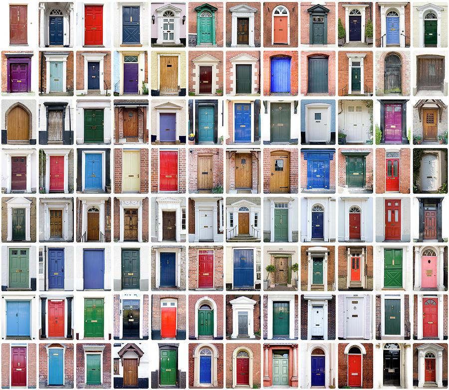English Shire Doors Photograph by Peteraustin