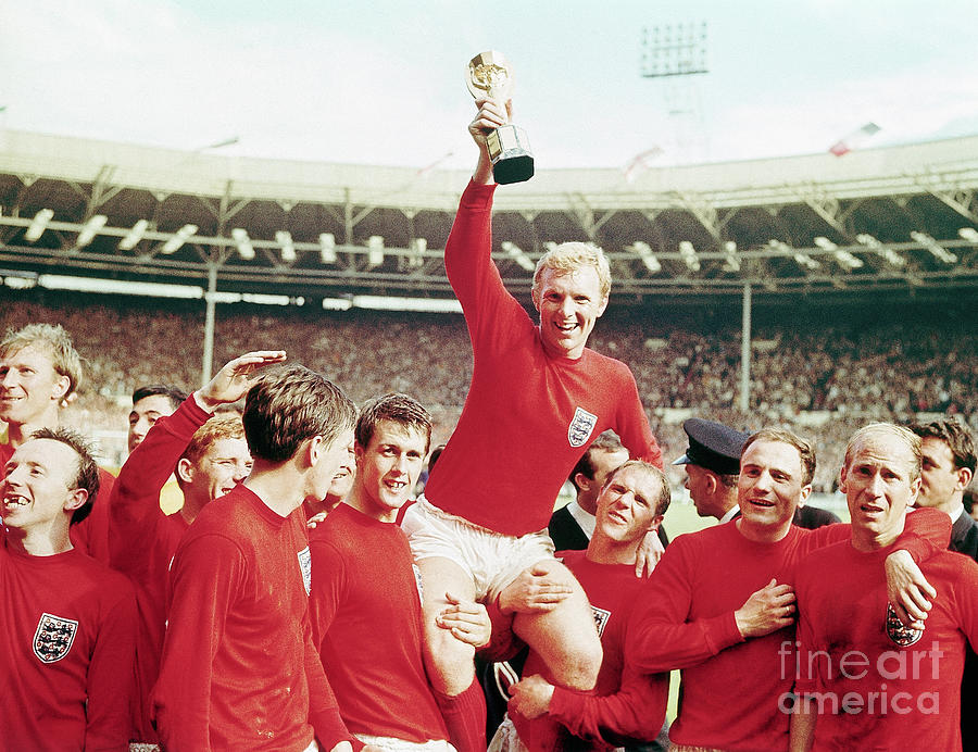 English Team And Bobby Moore Photograph by Bettmann