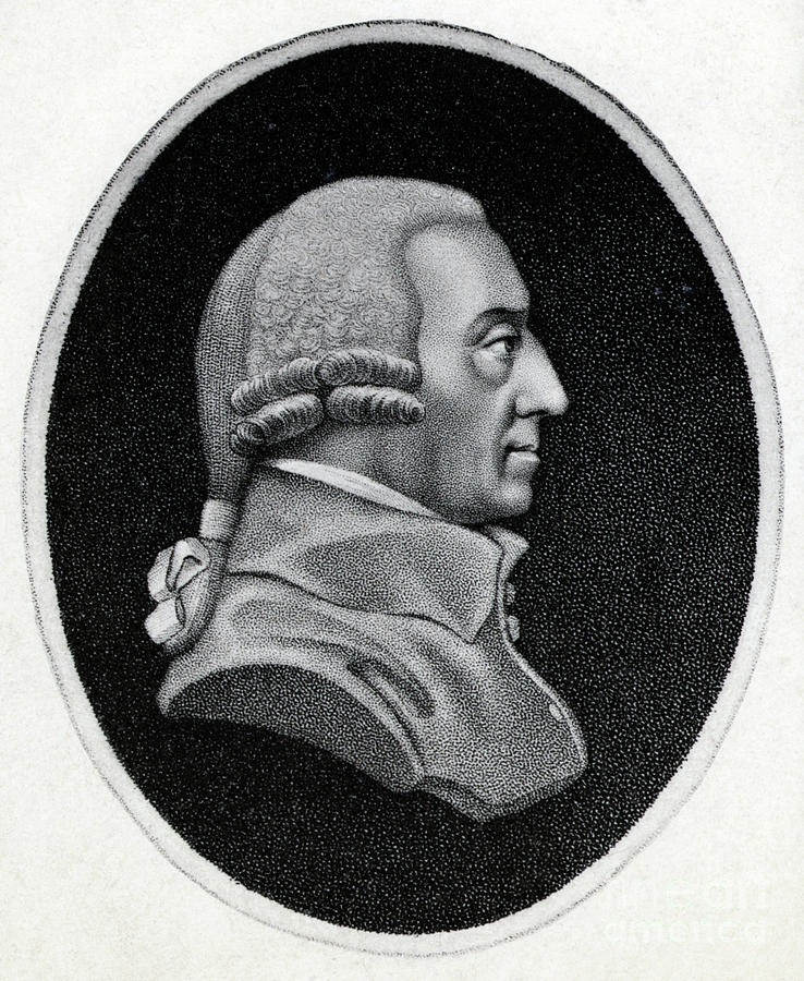 Engraving Of Economist Adam Smith Photograph by Bettmann