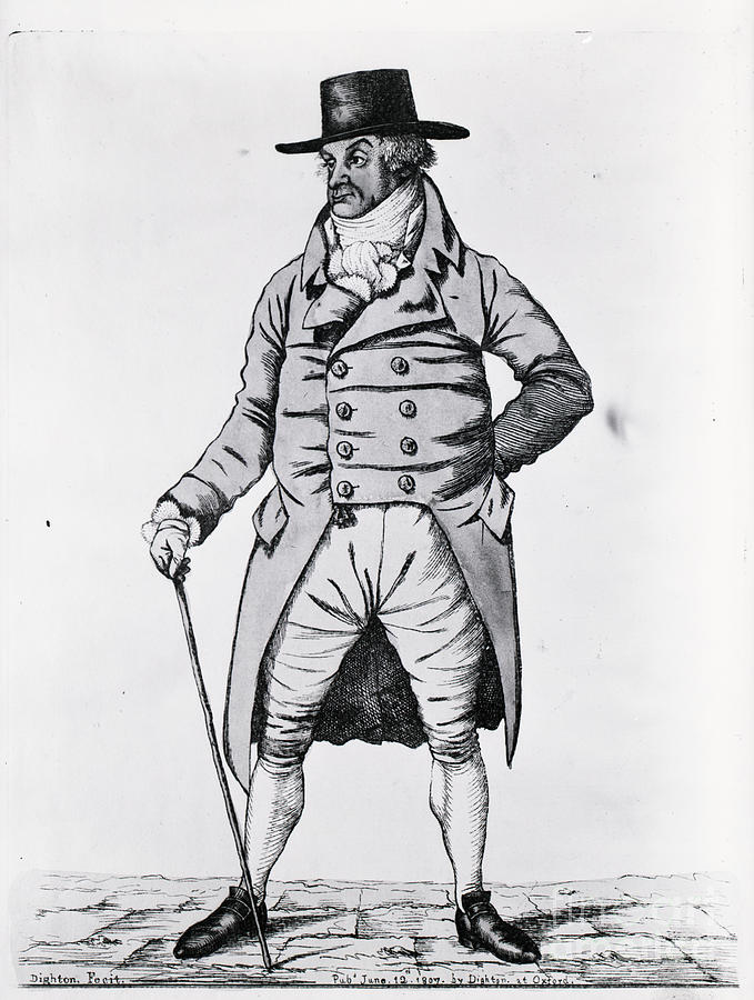 Engraving Of Fashionable English Gent Photograph by Bettmann