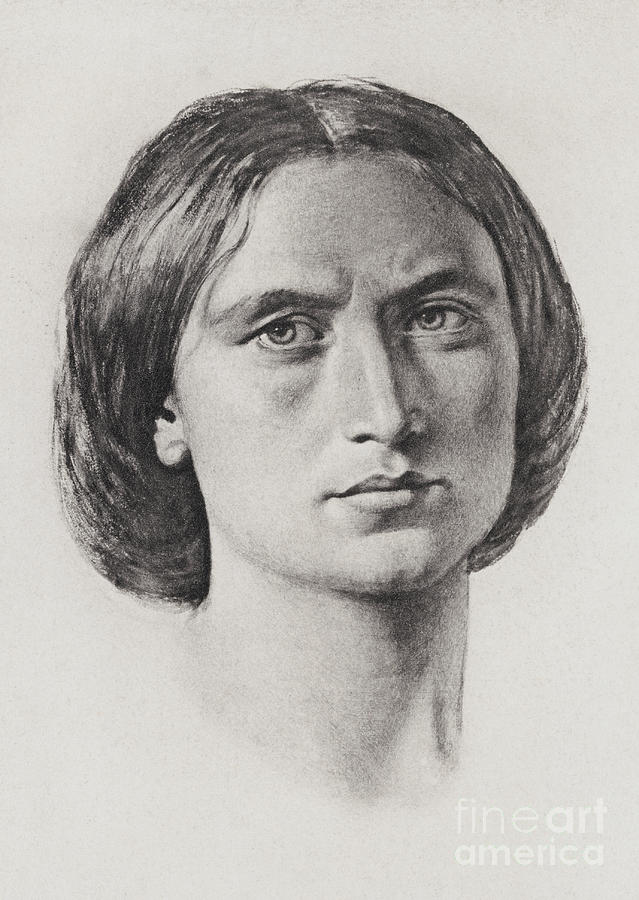 Engraving Of George Eliot Photograph by Bettmann