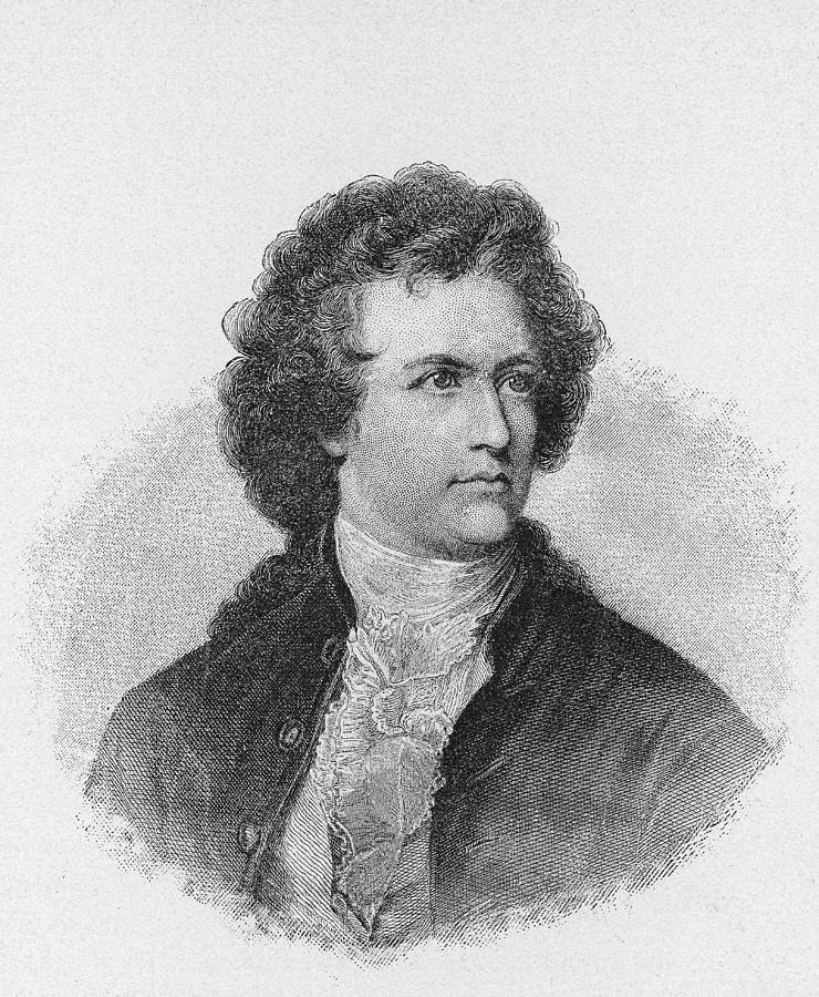 Engraving Of Johann Wolfgang Von Goethe Photograph by Kean Collection