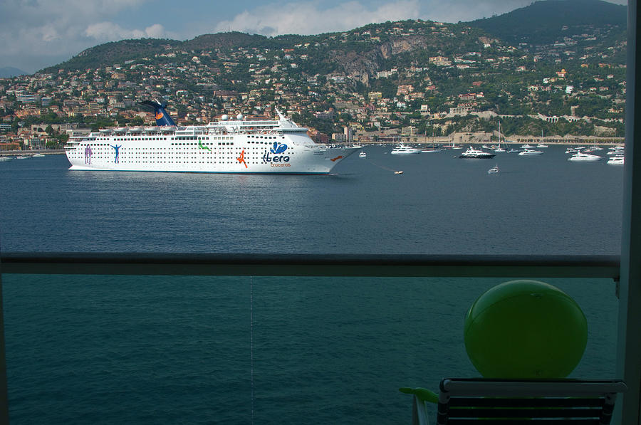 Enjoying The French Riviera View by Richard Henne