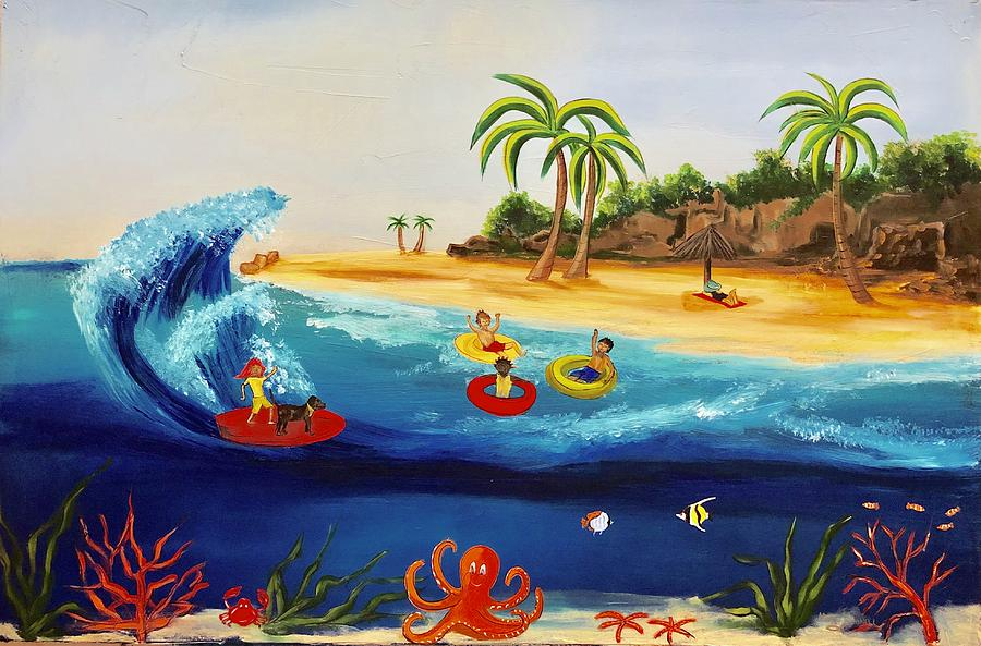 Surfs Up by Mary Rimmell