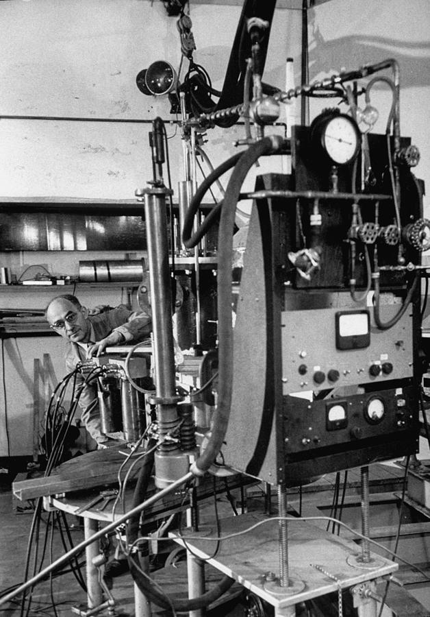 Enrico Fermi Photograph by Ralph Morse