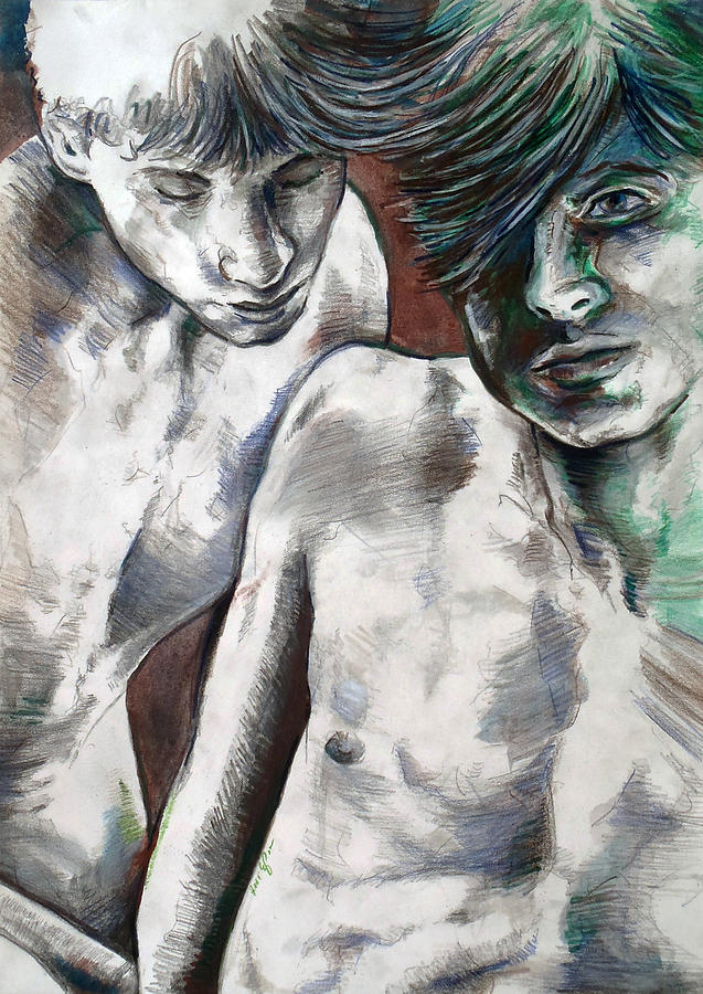Entanged Boys by Rene Capone