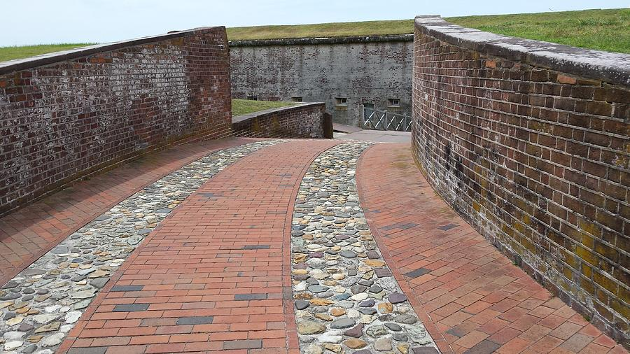 Enter Fort Macon 6 by Paddy Shaffer
