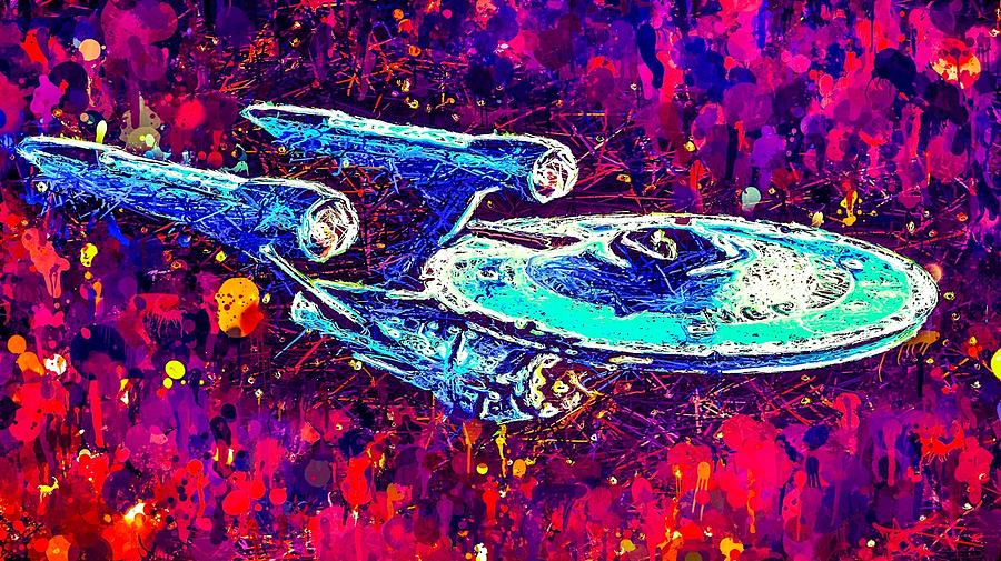 Star Trek Enterprise by Al Matra