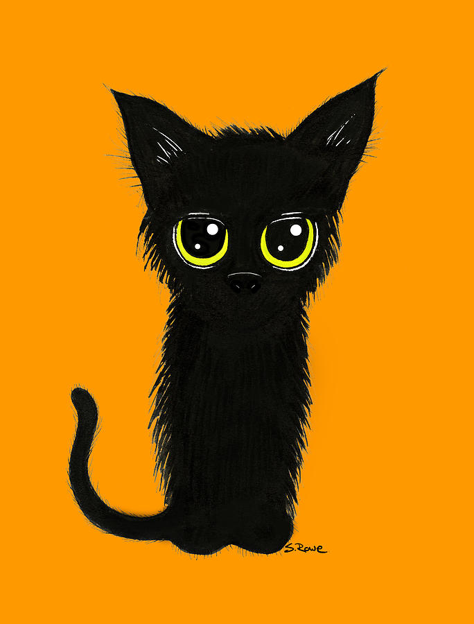 Enthralling Black Kitty by Shawna Rowe