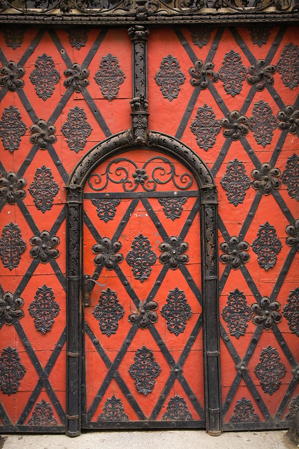 Entrance Door Details On A Building Photograph by Perry Mastrovito / Design Pics