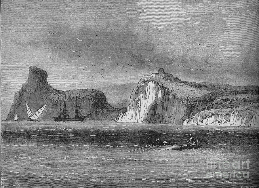 Entrance Of Balaclava Harbour Drawing by Print Collector