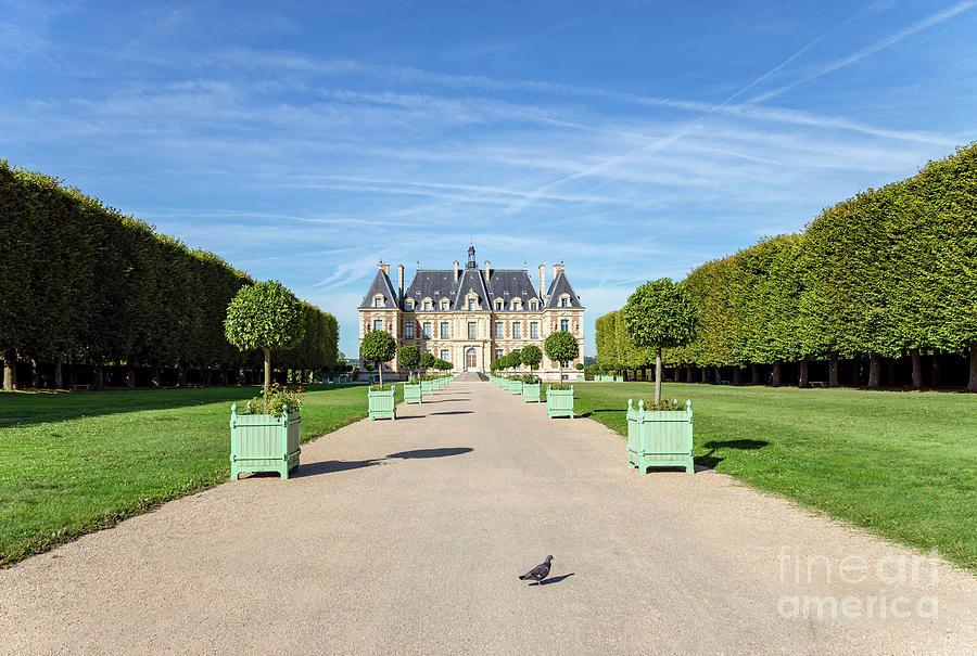 Entrance to the Chateau de Sceaux by Ulysse Pixel