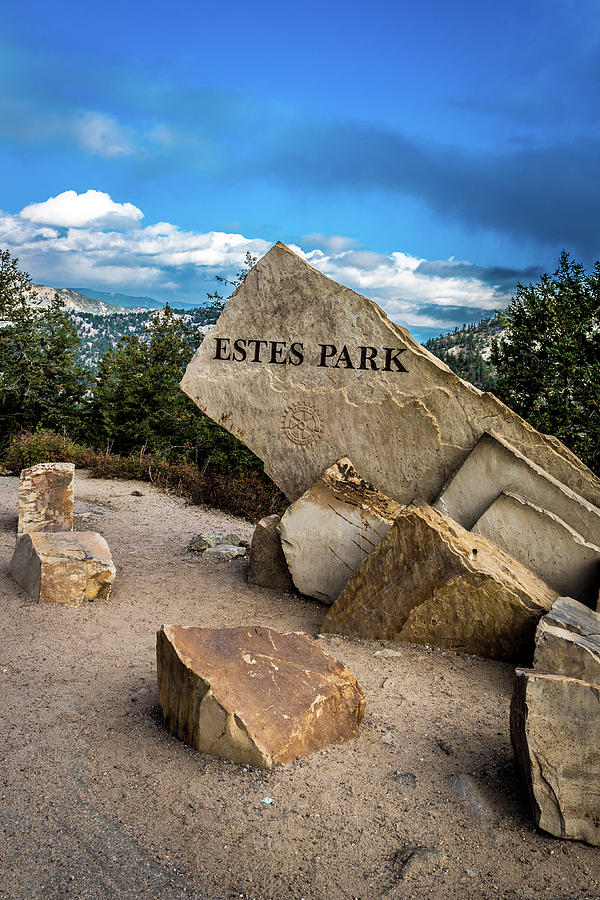Entrance to Estes Park by James L Bartlett