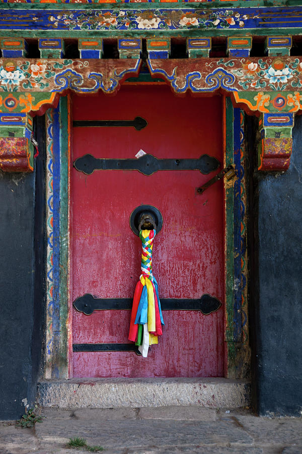 Entrance To The Tibetan Monastery Photograph by Hanhanpeggy