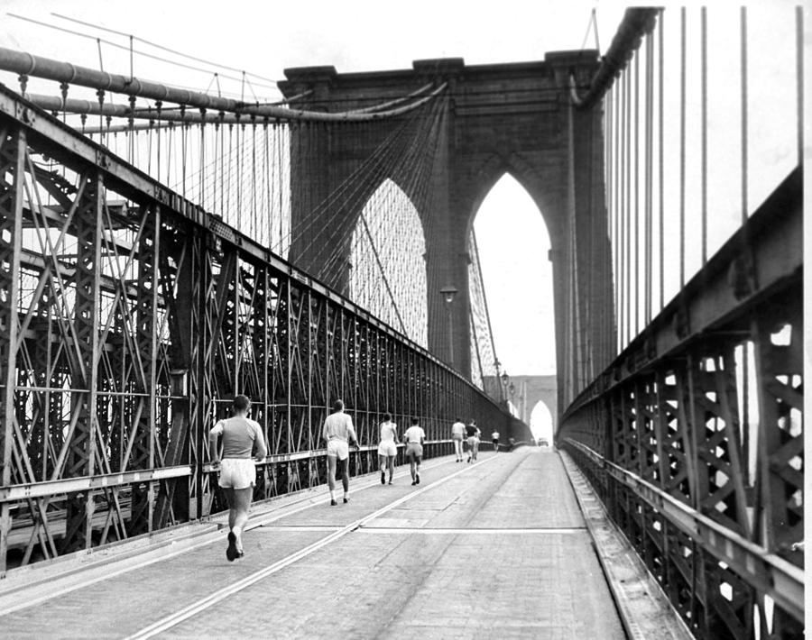 Entrants In The 38th Annual Walking Photograph by New York Daily News Archive