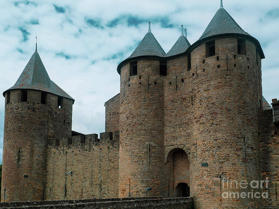 Entry to Carcassonne by Mary Capriole