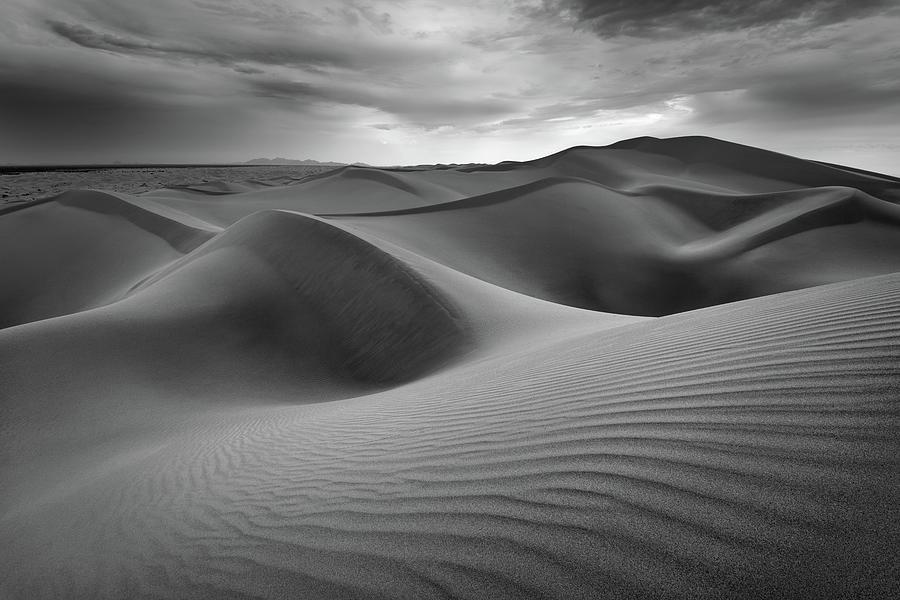Dunes Photograph - Eolian Undulations by Alexander Kunz