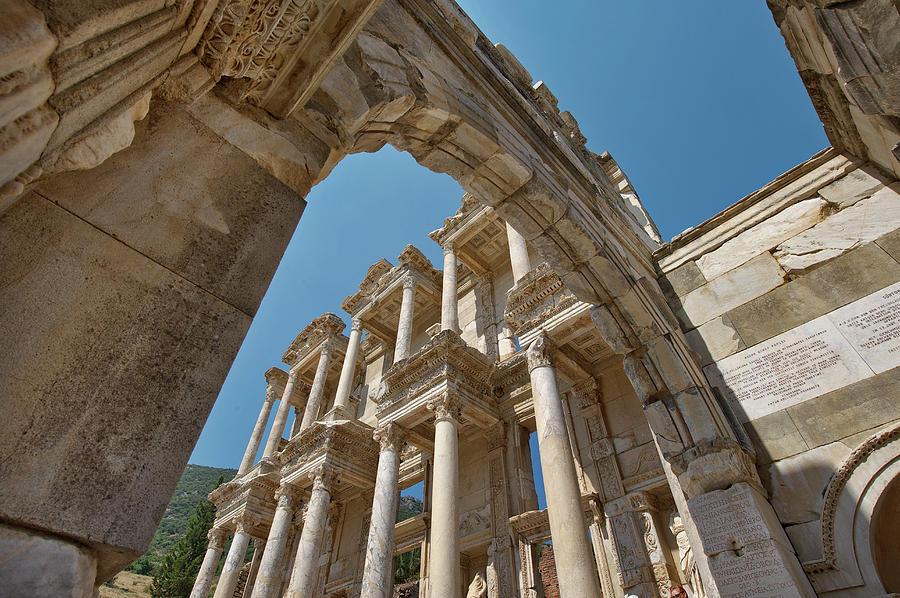 Ephesus Library Of Celcus Photograph by Izzet Keribar