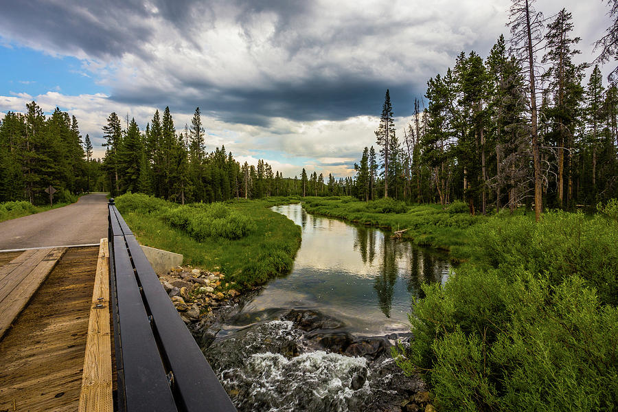 Creek Photograph - Epic Creek by Chris Eaves