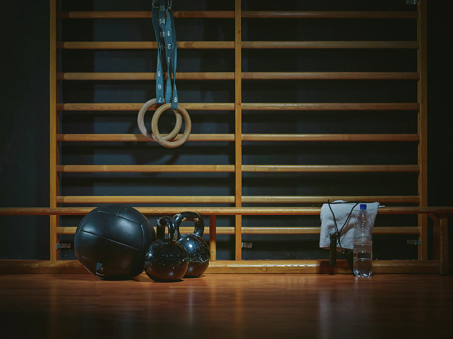 Equipment For Functional Training At Photograph by Westend61