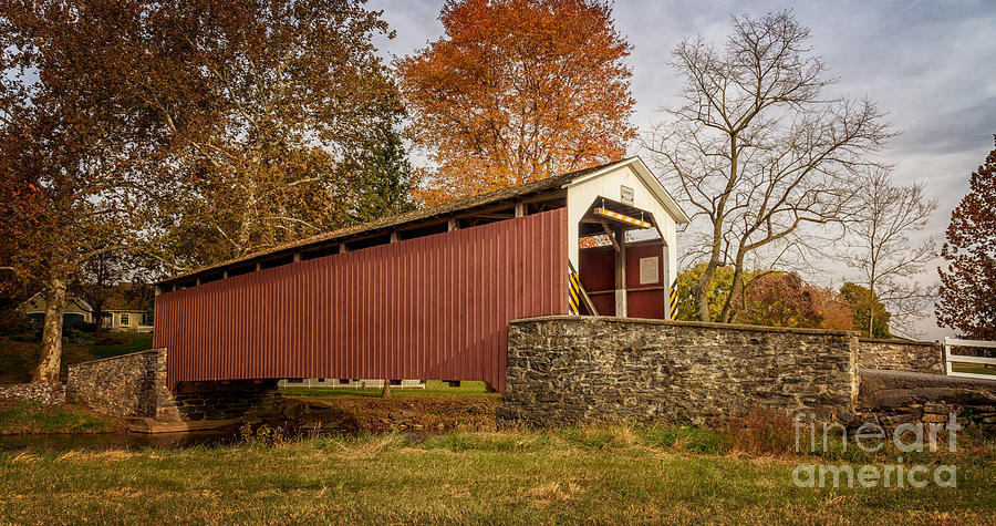 Erb's Covered Bridge II by Debra Fedchin