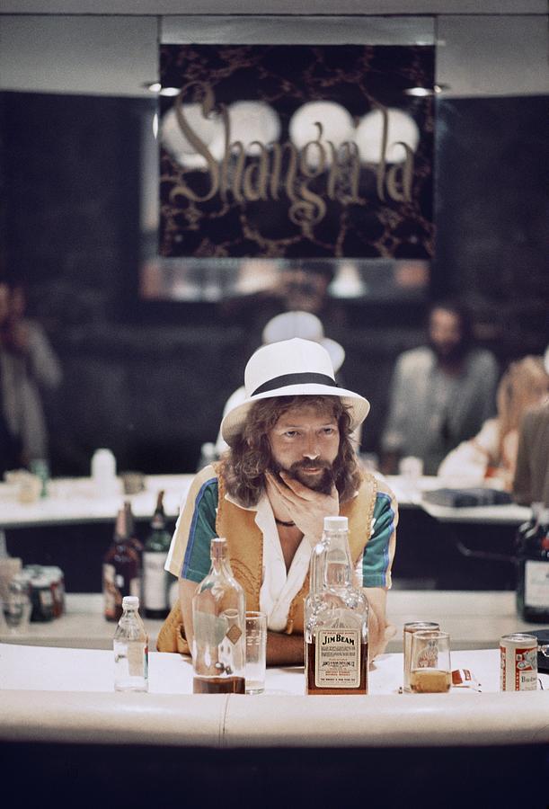 Eric Clapton In The Studio Photograph by Ed Caraeff/morgan Media
