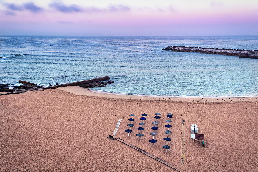 Portugal Photograph - Ericeira Beach Dawn - Portugal by Stuart Litoff